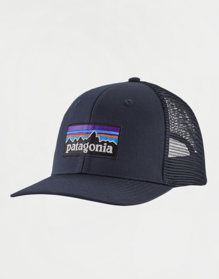 Šiltovky Patagonia P-6 Logo Trucker Hat